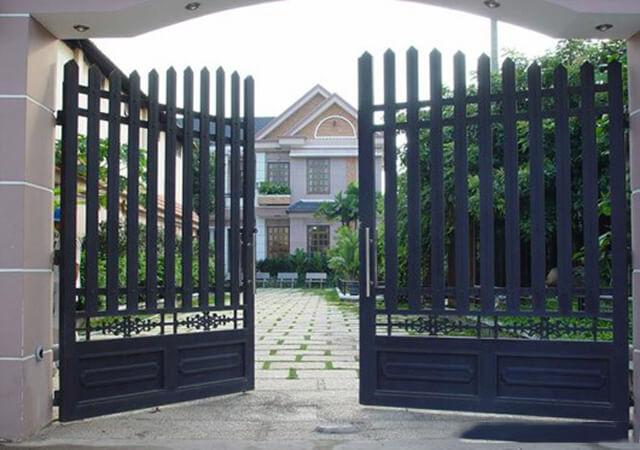 cổng nhà đẹp theo phong thủy 8