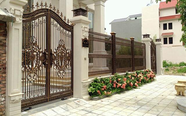 cổng nhà đẹp theo phong thủy 9
