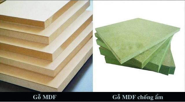 Phân loại các dòng gỗ công nghiệp MDF