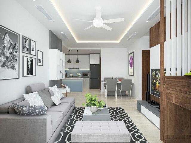 Những điều cần chú ý khi lên dự toán nội thất chung cư