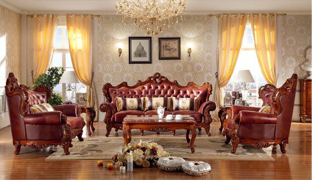 Sofa phòng khách cổ điển