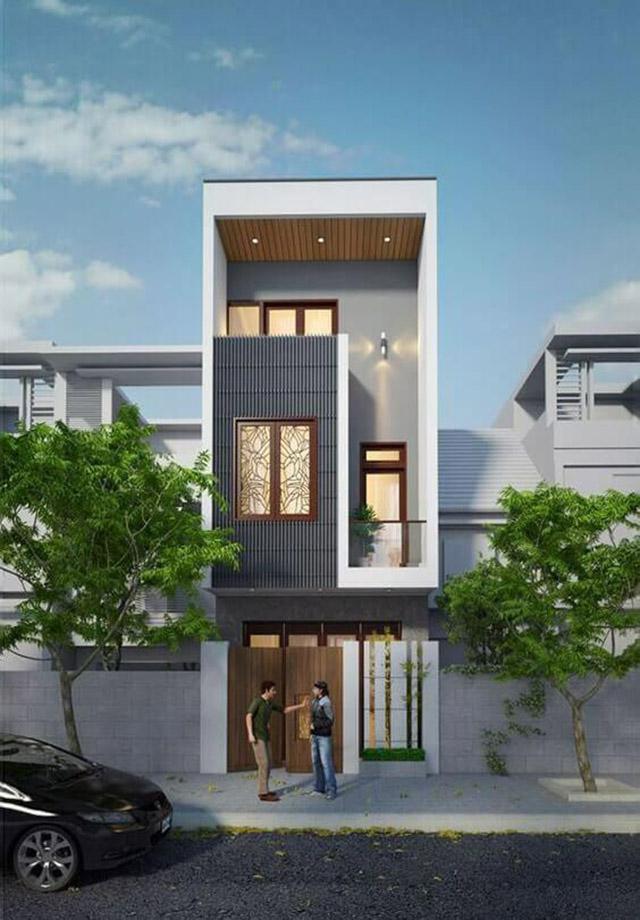 Hình ảnh mẫu nhà phố 3 tầng 4x16m 3