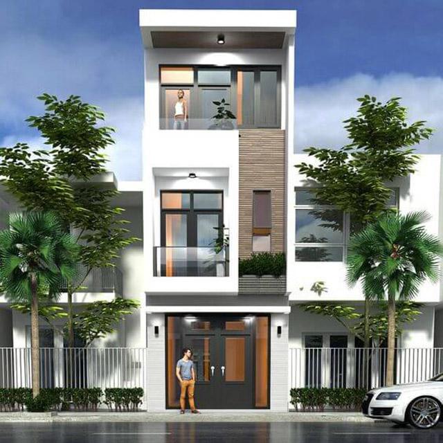 Hình ảnh mẫu nhà phố 3 tầng 4x16m 5