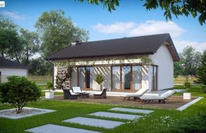 Với mẫu thiết kế này đem không gian sống hòa quyện cùng thiên nhiên, cây cỏ với hoạ tiết đơn giản nhưng đầy tinh tế.