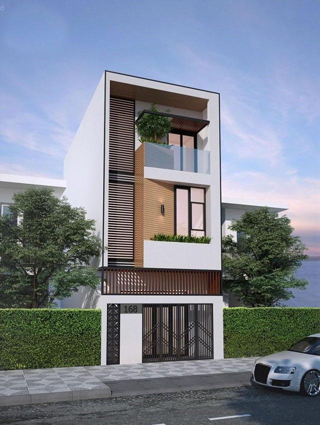 mẫu nhà đẹp 3 tầng 5x12m 2