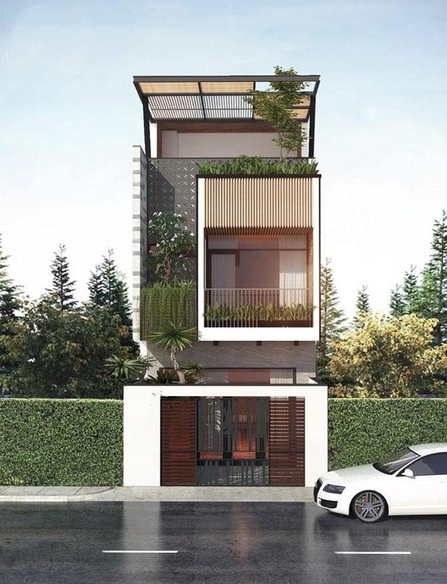 mẫu nhà đẹp 3 tầng 5x12m 3