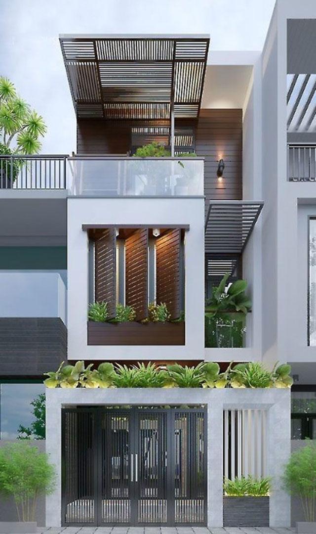 mẫu nhà đẹp 3 tầng 5x12m 4