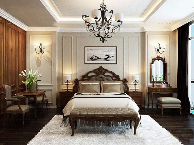 mẫu thiết kế nội thất phòng ngủ đẹp 1