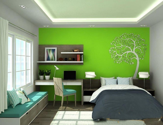mẫu thiết kế nội thất phòng ngủ đẹp 8