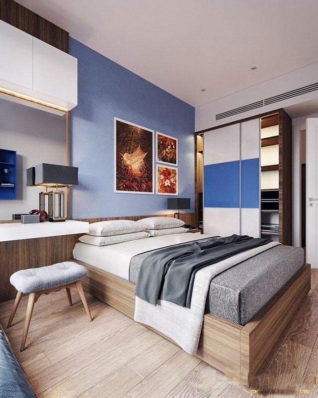 mẫu thiết kế nội thất phòng ngủ đẹp 9