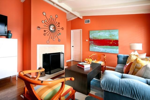 sơn phòng khách hướng bắc