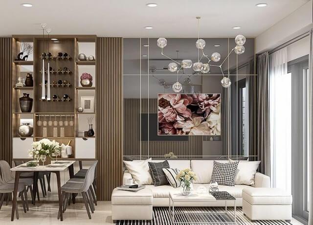 Thiết kế cho không gian phòng khách