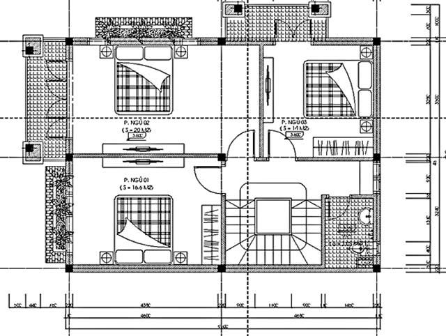 biệt thự vườn 3 tầng mặt tiền 20m-4