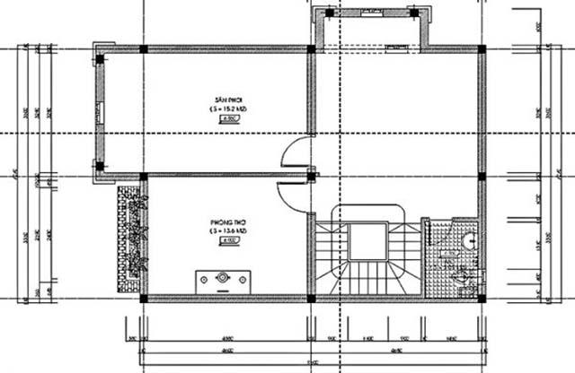 biệt thự vườn 3 tầng mặt tiền 20m-5