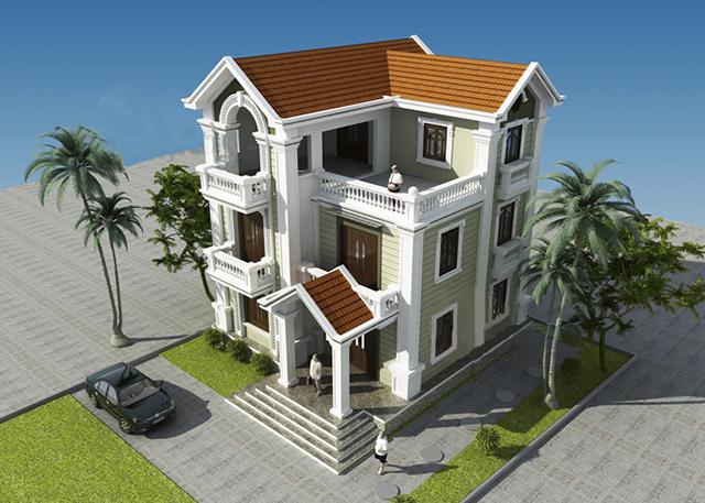 Quy trình thiết kế biệt thự tại Lạng Sơn