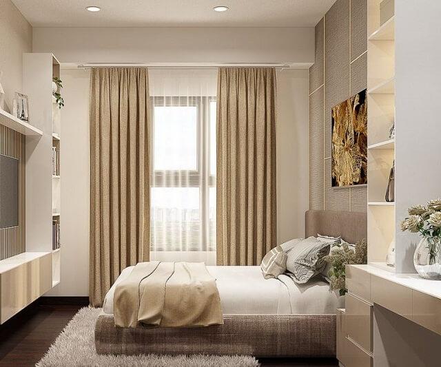 Mang đến cho không gian nguồn sáng từ tự nhiên và giúp không gian thoáng đãng hơn với cửa sổ lớn.