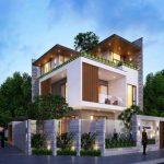 Top 10 mẫu  biệt thự 3 tầng 2 mặt tiền đẹp, hiện đại, sang trọng