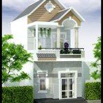 Tổng hợp 10 mẫu nhà đẹp 2 tầng 5x15m hiện đại, trẻ trung
