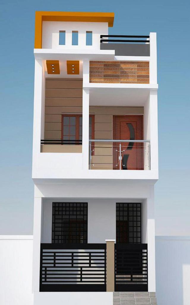 mẫu nhà đẹp 2 tầng 5x15m 3