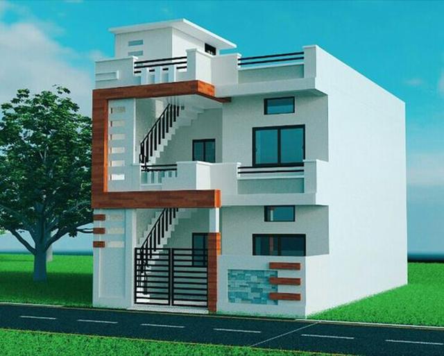 mẫu nhà đẹp 2 tầng 5x15m 4