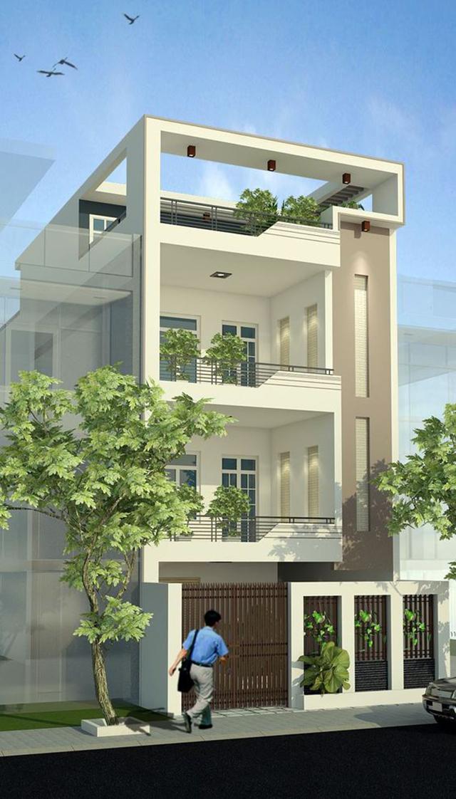 mẫu nhà đẹp 2 tầng 5x15m 7