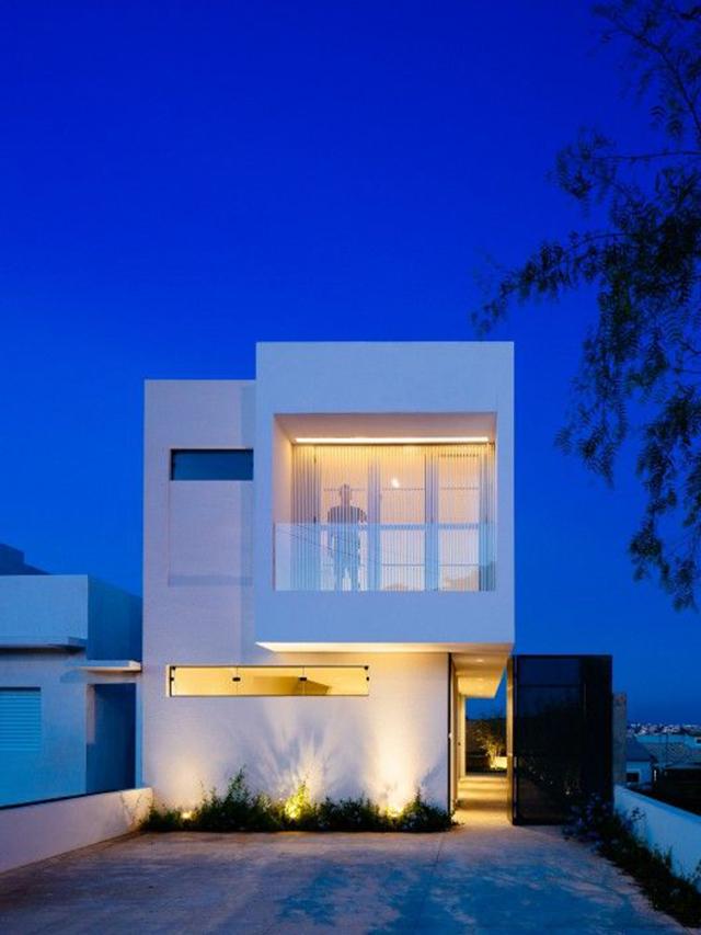 mẫu nhà đẹp 2 tầng 5x15m 9
