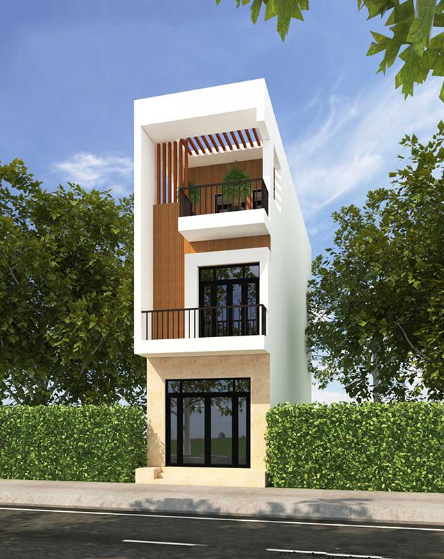 mẫu nhà phố 4x10m 1