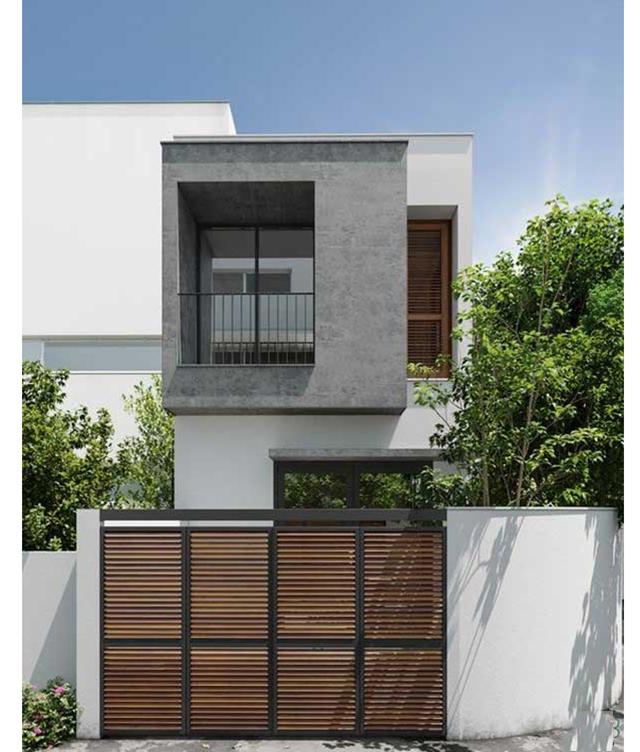 mẫu nhà phố 4x10m 3