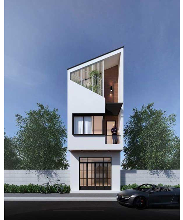 mẫu nhà phố 4x10m 6