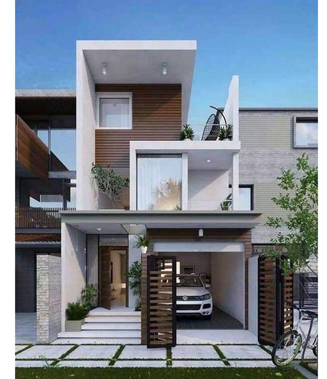 mẫu nhà phố 4x10m 7