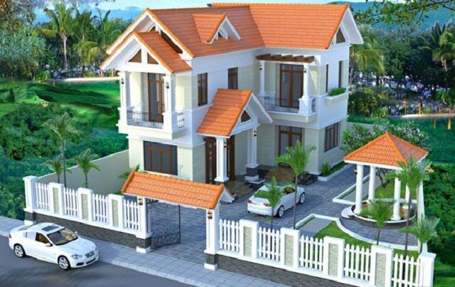 Thiết kế biệt thự hiện đại 9x13m 3