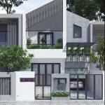10 Mẫu thiết kế nhà phố 5x20m 2 tầng đẹp, hiện đại