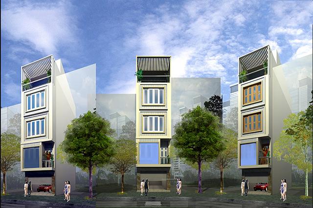 Ưu điểm của mẫu nhà phố 4x10m