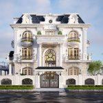 5 Mẫu biệt thự 3 tầng tân cổ điển đẹp và sang trọng | Kiến trúc HC