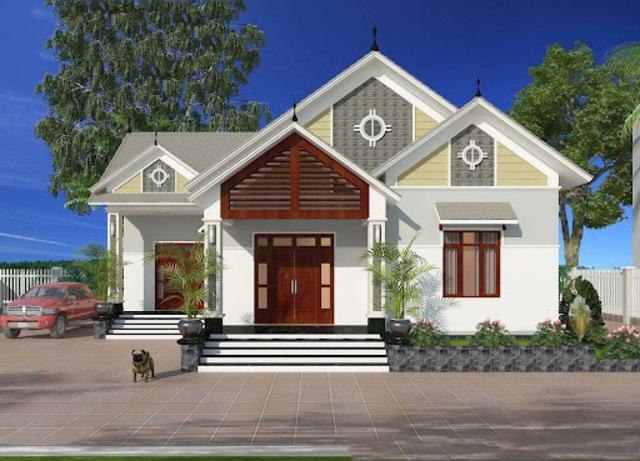 Mẫu thiết kế nhà cấp 4 10x10m